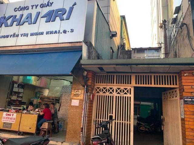 Cho thuê nhà mặt tiền Nguyễn Thị Minh Khai, Quận 3