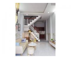 Cho thuê nhà MT 87A Lãnh Bình Thăng, Q11 .