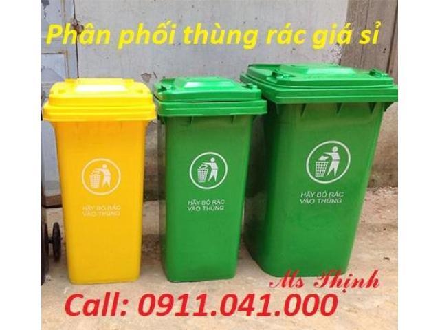Đại lý sỉ thùng rác công cộng 240L 120L 660L