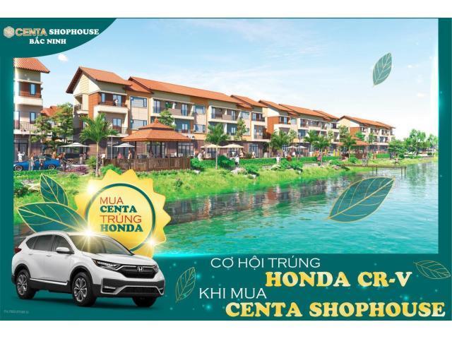 Bán Centa shophouse view sông tặng honda Crv Ck tới 5%, lh 0917785266