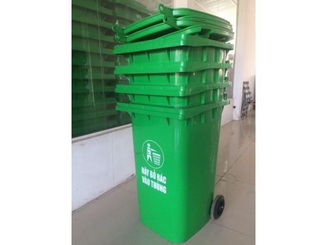 Chuyên thùng rác HDPE thùng rác 120lit thùng rác 240lit