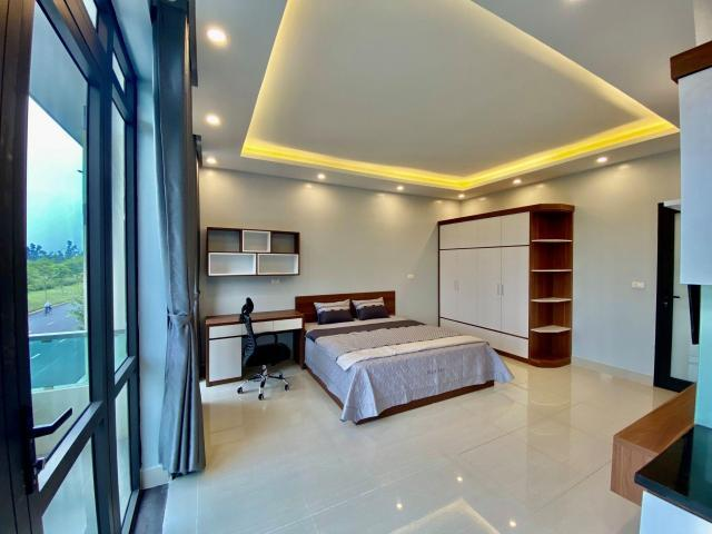 Cho thuê căn hộ cao cấp VSIP Bắc Ninh full nội thất 6tr/phòng, lh 0973321776