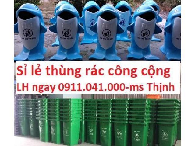 Thùng rác công cộng được nhập khẩu số lượng lớn lh 0911.041.000
