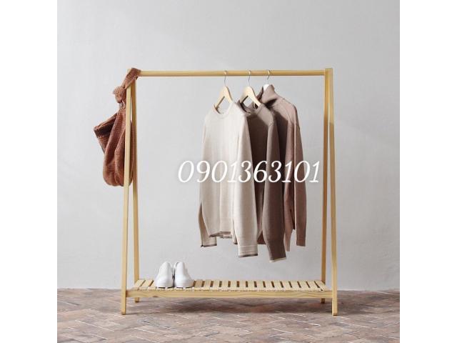 giá treo quần áo chữ A 1 tầng