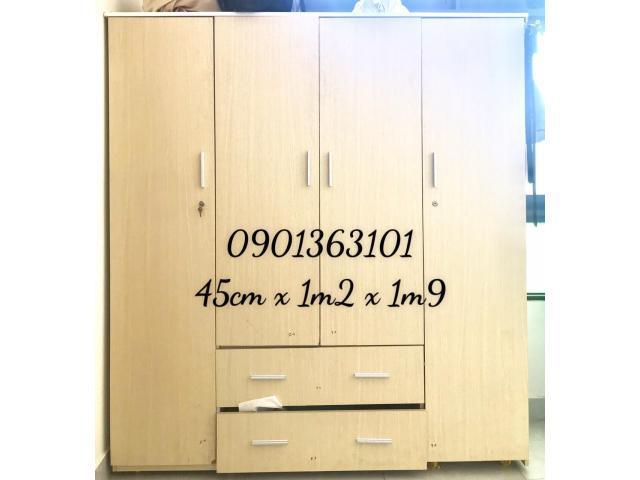 tủ quần áo gỗ thanh lý giá rẻ
