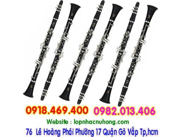 Shop chuyên cho thuê và bán kèn clarinet giá rẻ tại gò vấp