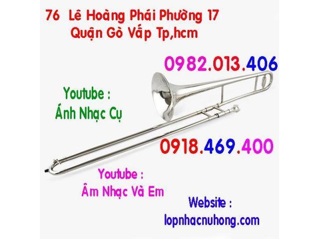 Chỗ cho thuê và bán kèn trombone chính hãng, chất lượng, giá tốt
