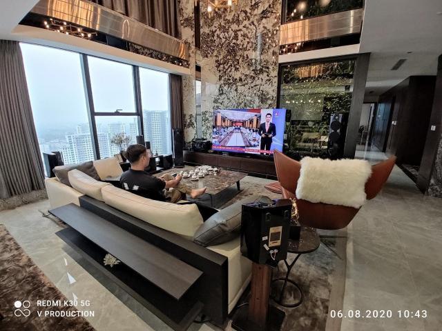 Bán cắt lỗ căn Penthouse Duplex 2 tầng, 143m2 giá 3,2 tỷ - Eco Dream Nguyễn Xiển