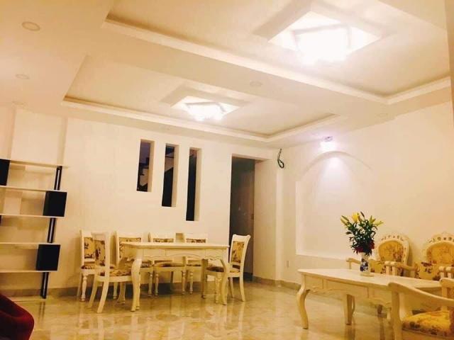 Bán nhà hẻm Lê Văn Sỹ, Q3, giá rẻ,110m2 ,4 lầu, 8 phòng ngủ.