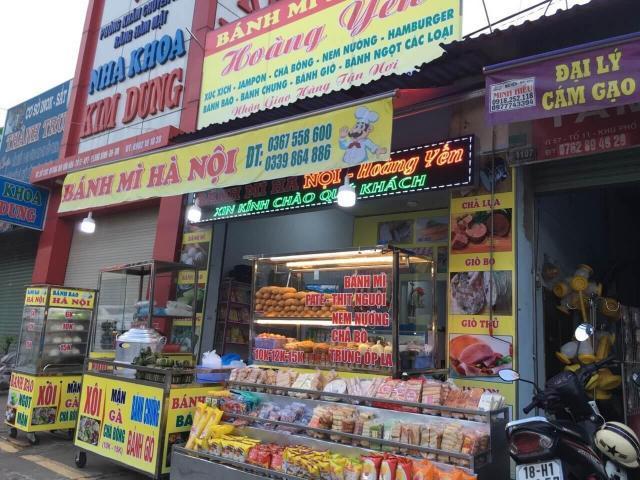 Sang nhượng Tiệm Bánh Mì Hà Nội ở TP Biên Hòa, Đồng Nai
