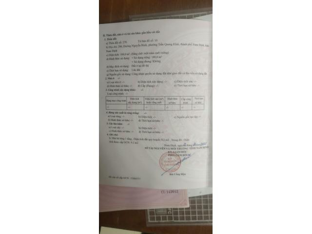Chính chủ cần bán đất mặt đường Nguyễn Bính.Liên hệ: 0918557984