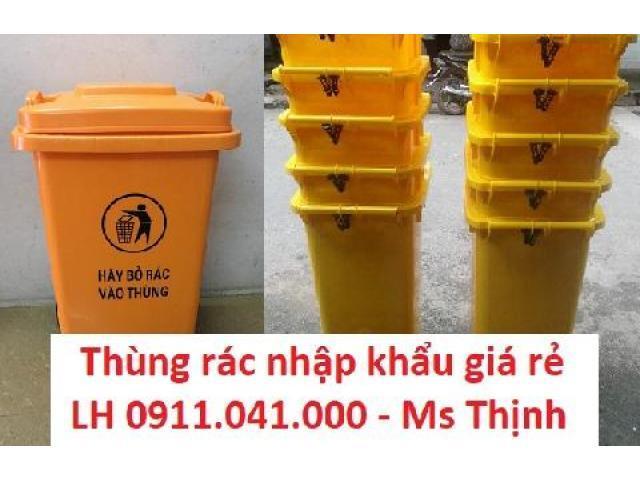 Khai trương công ty thùng rác công cộng giá bất ngờ