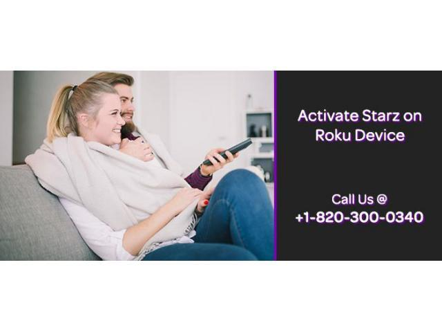 How to activate Starz channel?