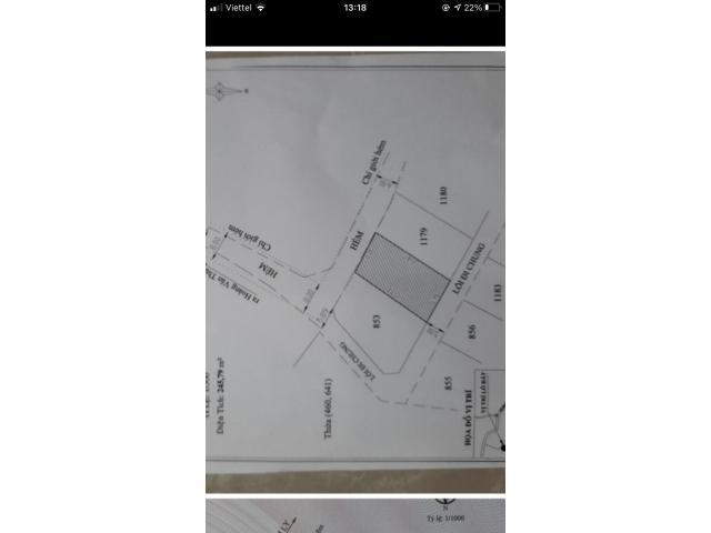 Bán đất 2 mặt tiền hẻm lớn Vạn Thành, P5 thích hợp phân lô phân quyền xây dựng