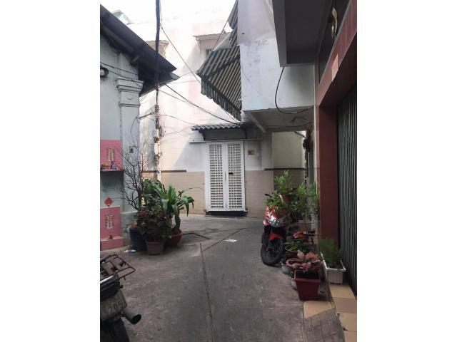 bán nhà góc 3 mặt tiền hẻm Trương Hán Siêu, ngay chợ Đa Kao, P. Đa Kao, Q.1