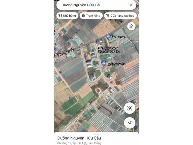Bán gấp đất KQH Nguyễn Hữu Cầu, P12, Đà Lạt giá tốt nhất thị trường