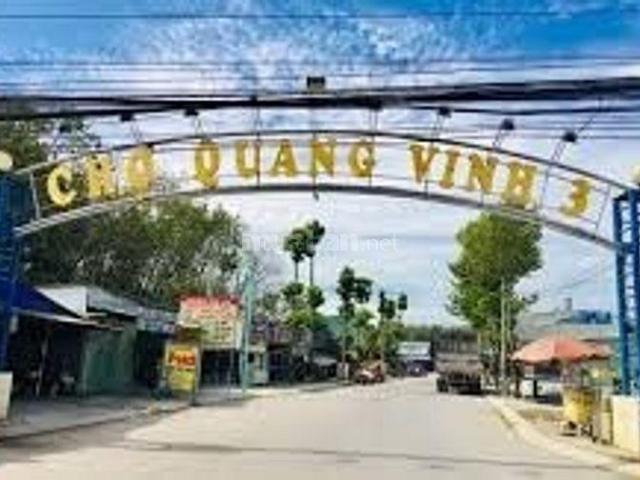 Chính chủ bán đất ngay đầu chợ Quang Vinh 3, xã Hội Nghĩa, Tân Uyên, Bình Dương - LH: 0946876793