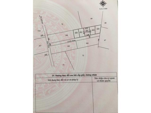 Bán đất biệt thự Măng Lin hẻm nhựa, View cao, thích hợp nghỉ dưỡng