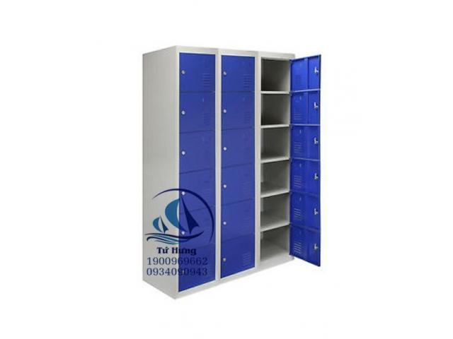 Tủ locker 18 ngăn giá rẻ