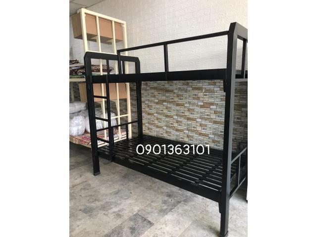 Giường sắt tầng 1m2 full nội thất giá tại xưởng