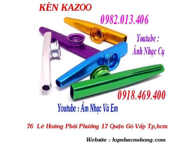 Chỗ bán kèn kazoo tại Gò Vấp – Nhạc Cụ Nụ Hồng