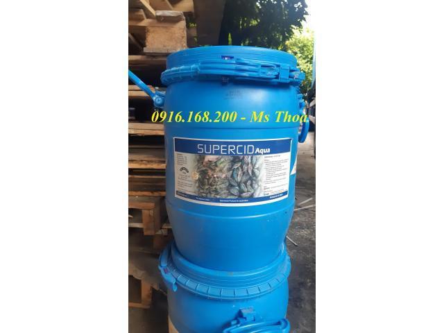 SUPERCID AQUA - Acid hữu cơ nguyên liệu cho tôm cá