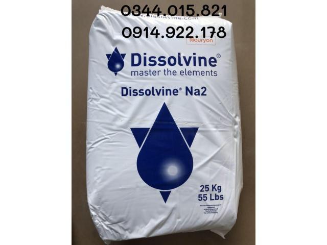 Dissolvine Na2, edta 2 muối Hà Lan, khử phèn và kim loại nặng