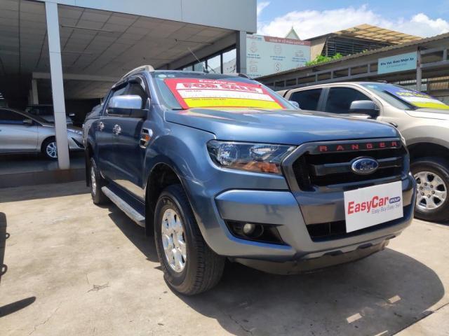 Bán xe Ford Ranger XLS 2.2L 4x2 AT, đời 2015, màu Xanh, nhập khẩu Thái, giá 542 triệu