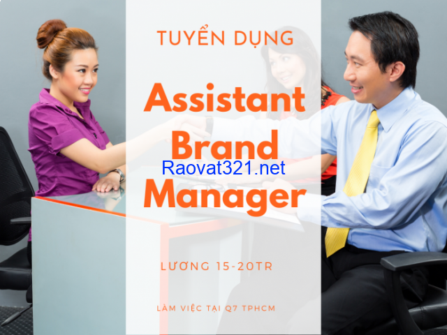 Báo mua bán tuyển Assistant Brand Manager